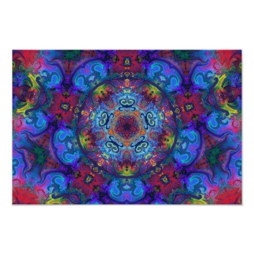 Design do abstrato da arte da mandala arte de fotos