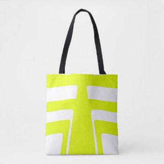 Design do abstrato da luz solar bolsa tote