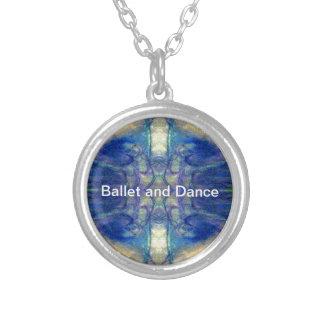 Design do abstrato do balé e da dança