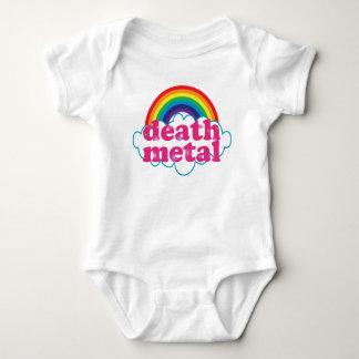 Design do arco-íris do metal da morte body para bebê