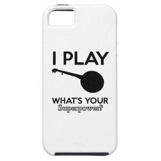 design do banjo capa tough para iPhone 5