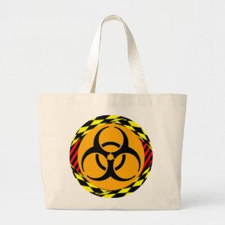 Design do Biohazard por Kenneth Yoncich Sacola Tote Jumbo