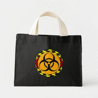 Design do Biohazard por Kenneth Yoncich Sacola Tote Mini