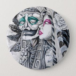 Design do botão das belas artes de Samuel Rios Bóton Redondo 10.16cm