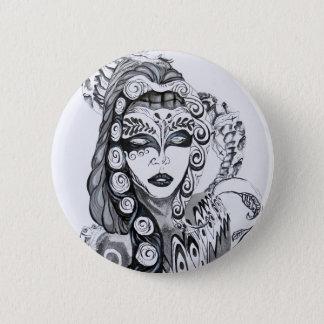 Design do botão das belas artes de Samuel Rios Bóton Redondo 5.08cm
