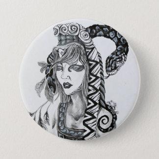 Design do botão das belas artes de Samuel Rios Bóton Redondo 7.62cm