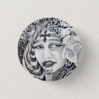 Design do botão das belas artes de Taina Samuel Bóton Redondo 2.54cm