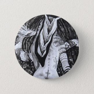 Design do botão das belas artes de Taina Samuel Bóton Redondo 5.08cm
