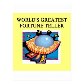 design do caixa de fortuna cartão postal