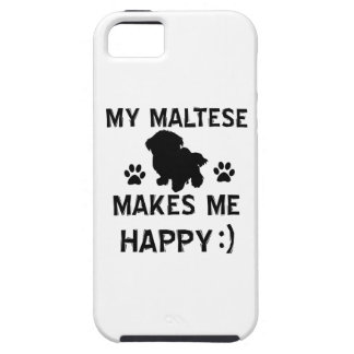 Design do cão maltês capa tough para iPhone 5