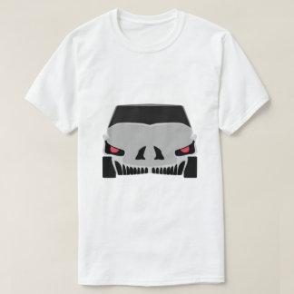 Design do carro de Skulled Camiseta