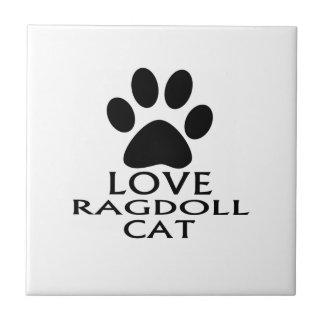 DESIGN DO CAT DO AMOR RAGDOLL