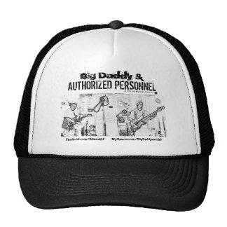 Design do chapéu do camionista - logotipo & imagem boné