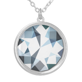 Design do diamante da colar do pendente do cristal