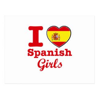 Design do espanhol cartão postal