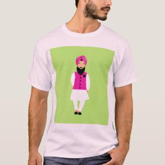 Design do estilo de Singh Camiseta