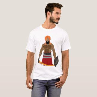 design do estilo do singh camiseta