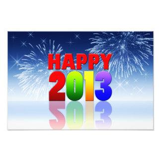 Design do feliz ano novo fotografias
