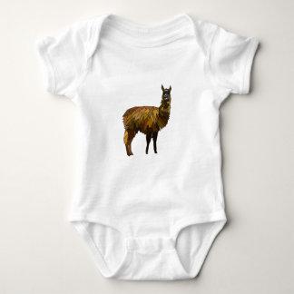 Design do geo do lama body para bebê
