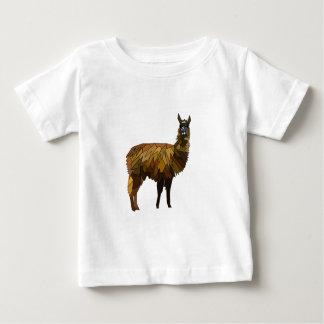 Design do geo do lama camiseta para bebê