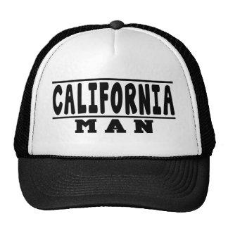 Design do homem de Califórnia Boné