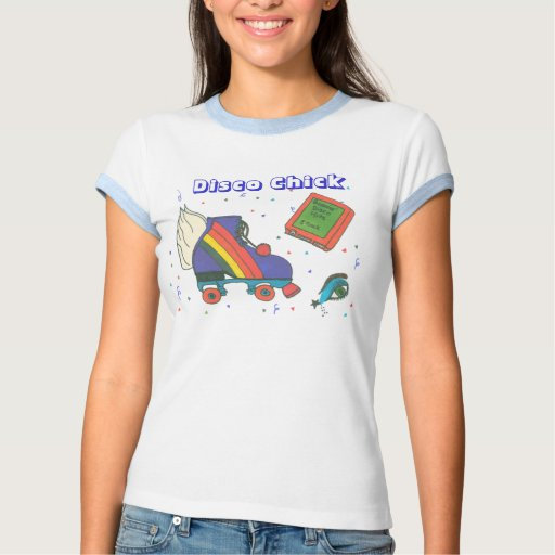 Design do ícone do skate de rolo do anos 80 do t-shirts