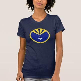 Design do instrumento do avião camiseta