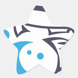 Design do logotipo dos peixes adesito estrela