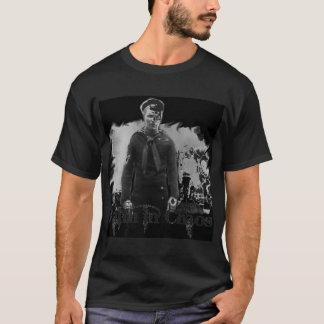 design do marinheiro camiseta