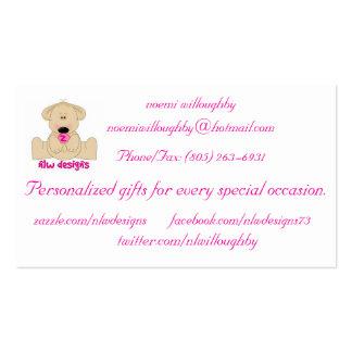 design do nlw cartão de visita
