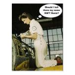 Design do operário de Rosie da segunda guerra mund Cartao Postal