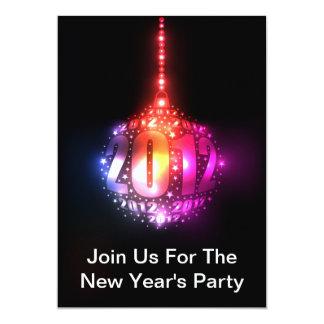 Design do ornamento de ano novo Sparkling 2012 Convites Personalizados
