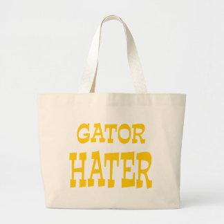 Design do ouro amarelo do aborrecedor do jacaré bolsa para compras