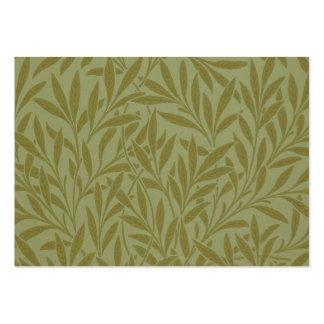 Design do papel de parede de William Morris do Cartão De Visita Grande