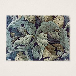 Design do papel de parede floral do Acanthus de Cartão De Visitas