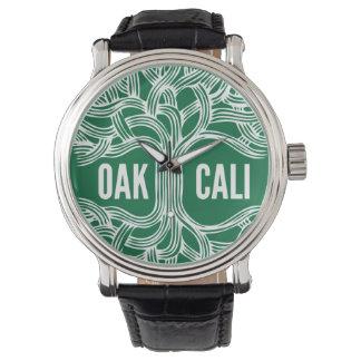 Design do relógio do carvalho de Oakland