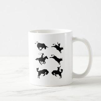Design do rodeio caneca de café