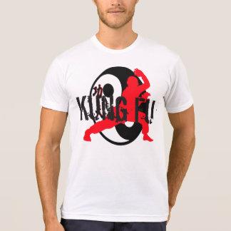 Design do t-shirt do fu de Kung pela granja de Joe