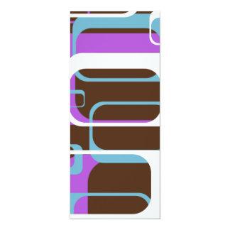 Design do teste padrão convites personalizado