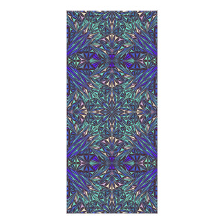 Design do teste padrão de Medina 10.16 X 22.86cm Panfleto