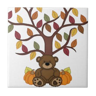 Design do urso do outono da queda