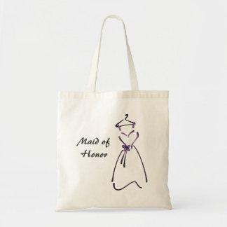 Design do vestido elegante com slogan customizável bolsa tote