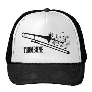 Design do vetor do Trombone Boné