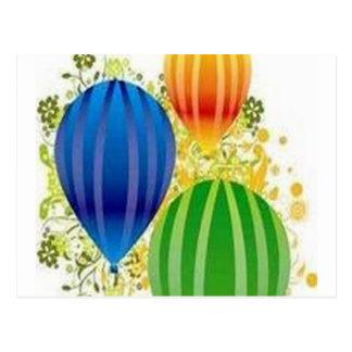 Design dos ballons de Corel Cartão Postal