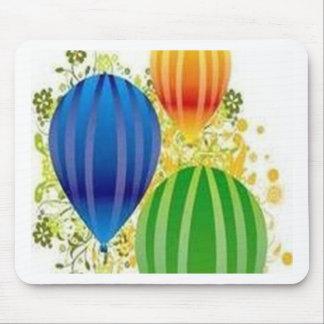Design dos ballons de Corel Mouse Pad