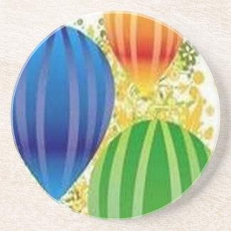 Design dos ballons de Corel Porta Copos De Arenito