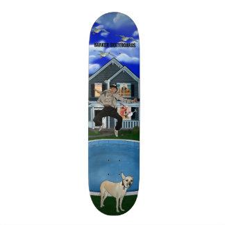 Design dos skates do ladrador (partido de solo)