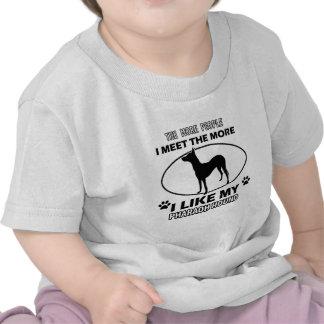 Design e presentes do cão do faraó camiseta