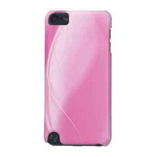 Design elegante do abstrato do rosa capa para iPod touch 5G