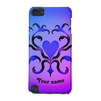 Design elegante do coração capa para iPod touch 5G